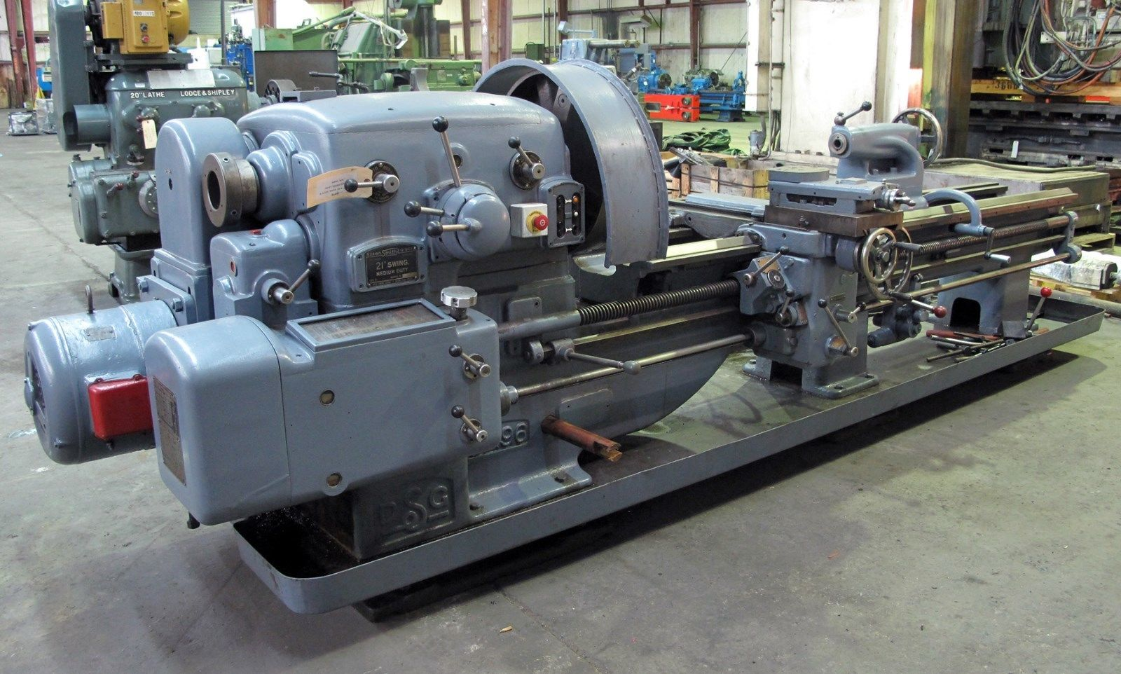 Oil Country Lathe Marketplace Field Hollow Spindle Lathes Leblond Wiring Schematic Dean Smith Grace Engine
